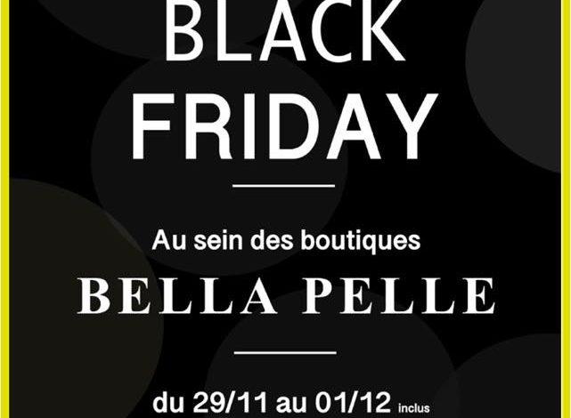 Black Friday Bella Pelle à Morocco Mall Jusqu'au Dimanche 1er Décembre 2019