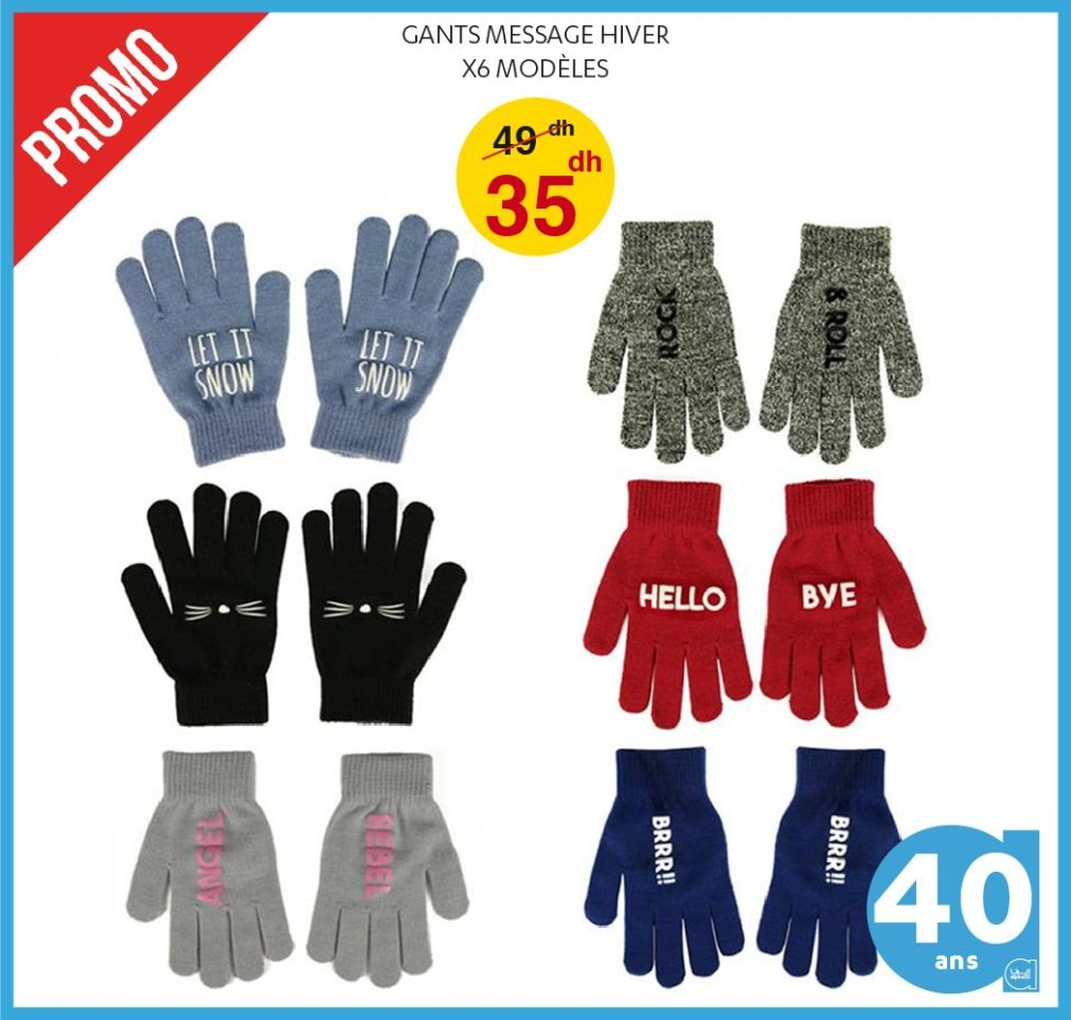 Promo Alpha55 nouvelle collection de Bonnets et Gants