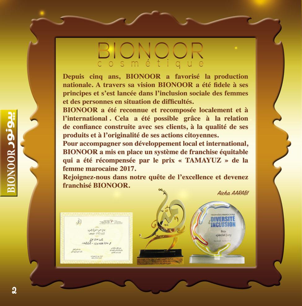Catalogue Bionoor Cosmétique 2019/2020