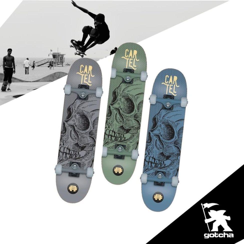 Nouveau chez Gotcha Maroc Skate-bords en Bambou Canadien Tatoué