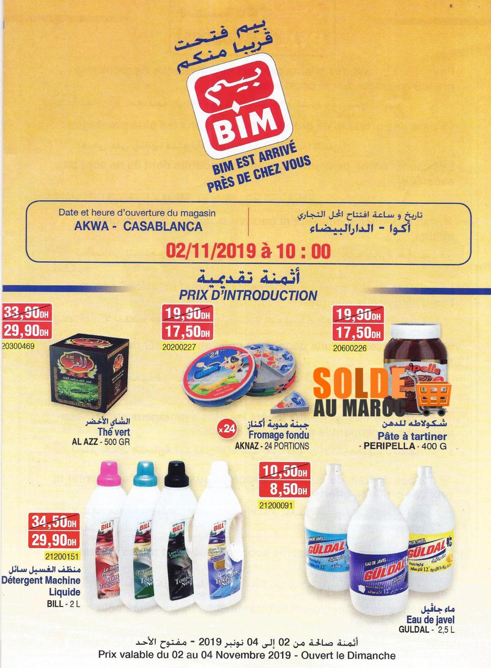 Catalogue Bim Lot les Iris Ain Sebâa Casablanca du 2 au 4 Novembre 2019