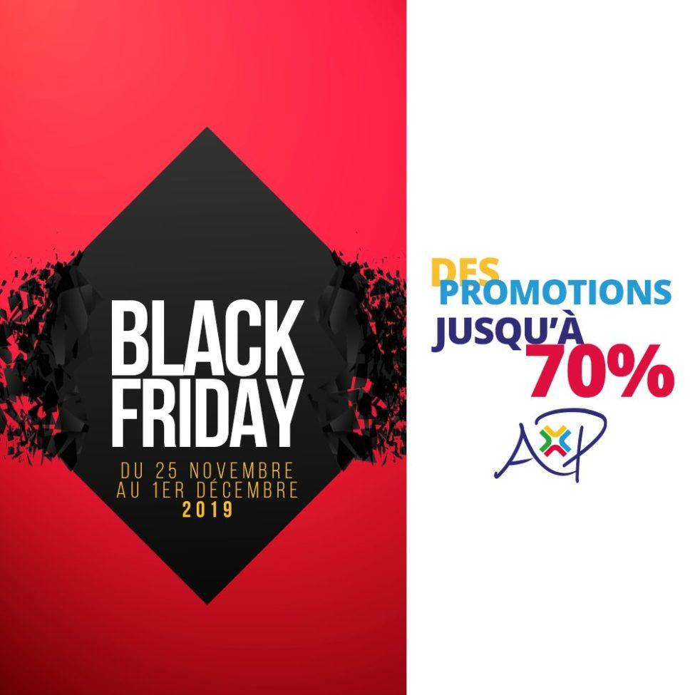 Black Friday chez ANFAPLACE MALL des Promos jusqu'au 70%