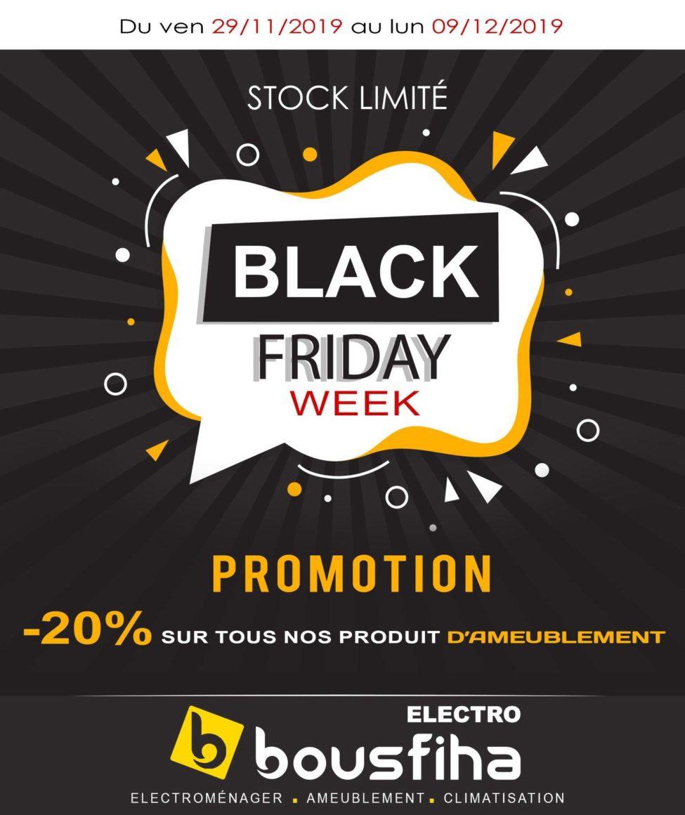 BLACK FRIDAY 2019 Electro Bousfiha du 29 Novembre au 9 Décembre 2019