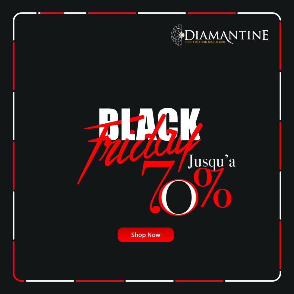 Black Friday Commence chez Diamantine Jusqu'au -70% de réduction