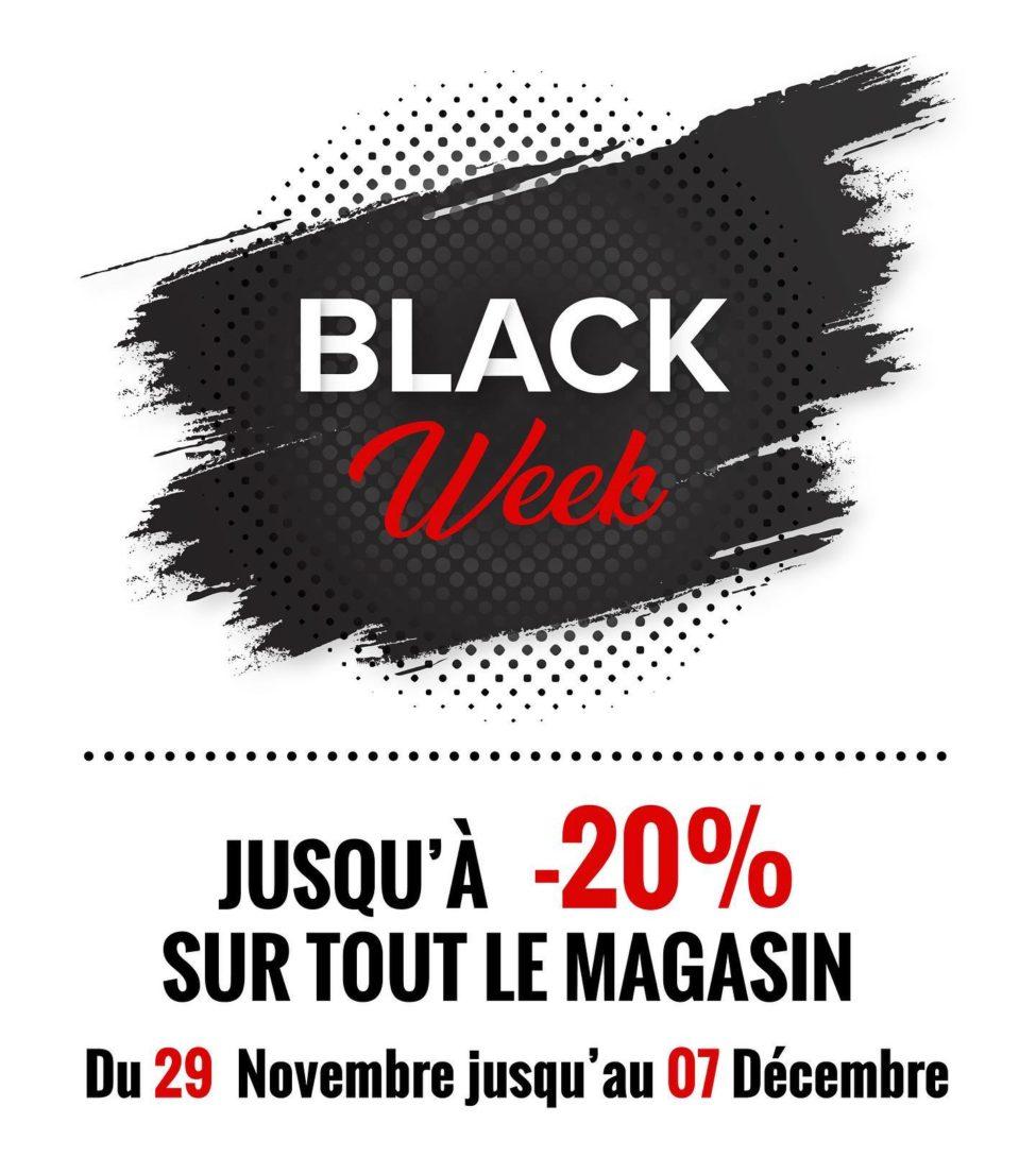 Flyer Black Week Mobilier Polydesign 20% du 29 Novembre au 7 Décembre 2019