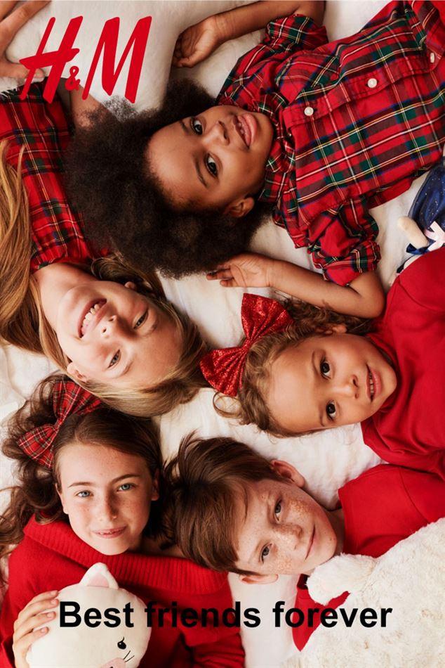 Lookbook H&M Best Friends Forever du 8 Décembre au 5 Janvier 2020