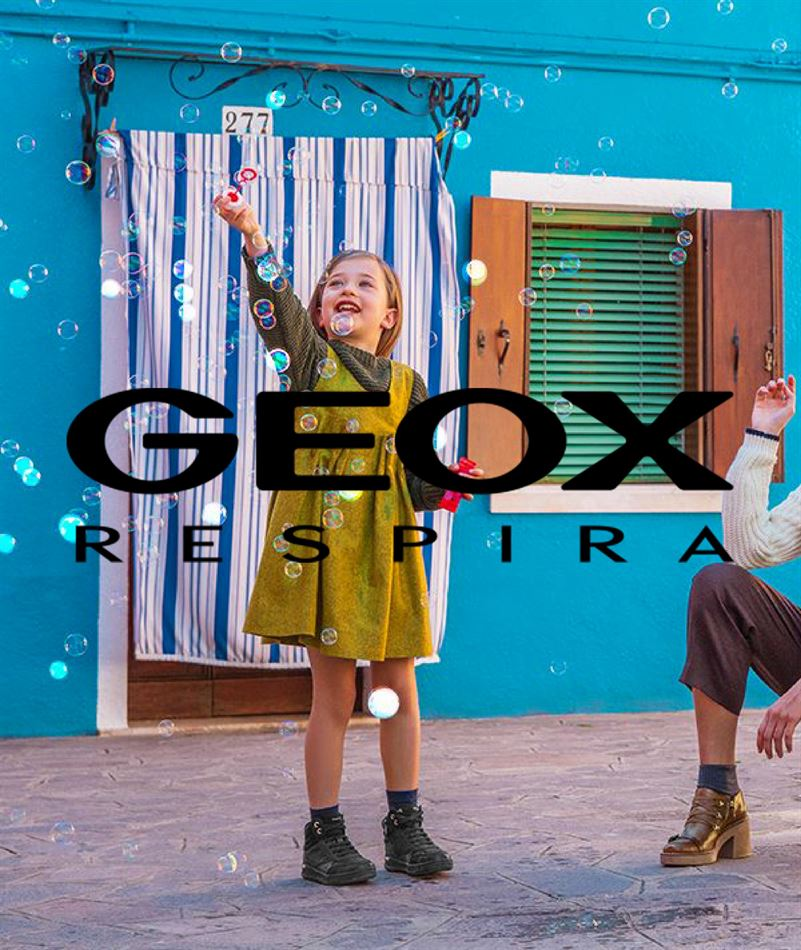 Lookbook Geox New Collection du 10 Décembre au 5 Janvier 2020