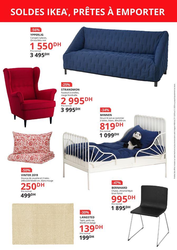 Flyer Ikea Maroc SOLDES FIN ANNÉE Jusqu'au 5 Janvier 2020