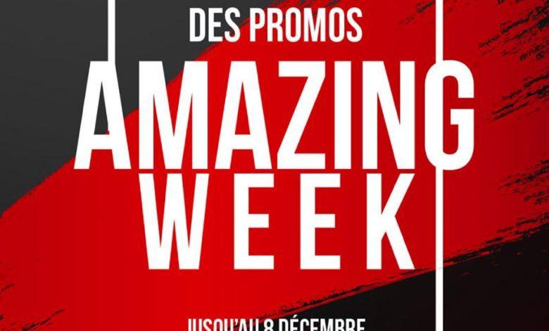 Prolongement des PROMOS Excellence Amazing Week du 02 au 8 Décembre 2019