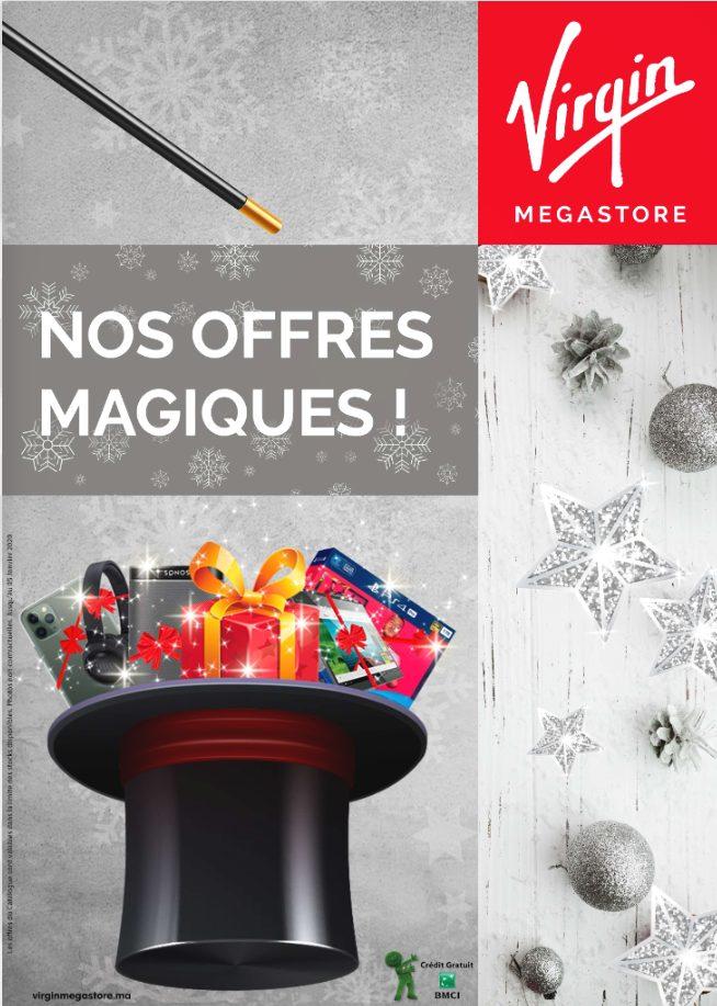 Catalogue Virgin Megastore Maroc Nos offres Magiques Jusqu'au 5 Janvier 2020