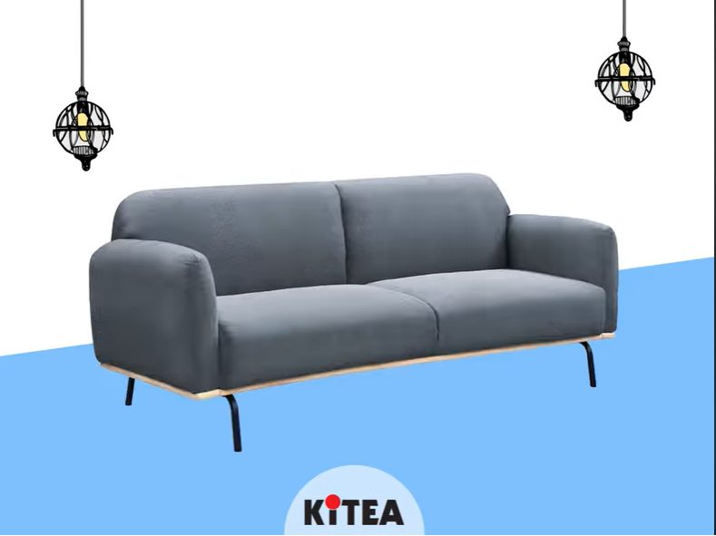 Promo Kitea Canapé clic-clac TAYRON 4995Dhs au lieu de 5595Dhs