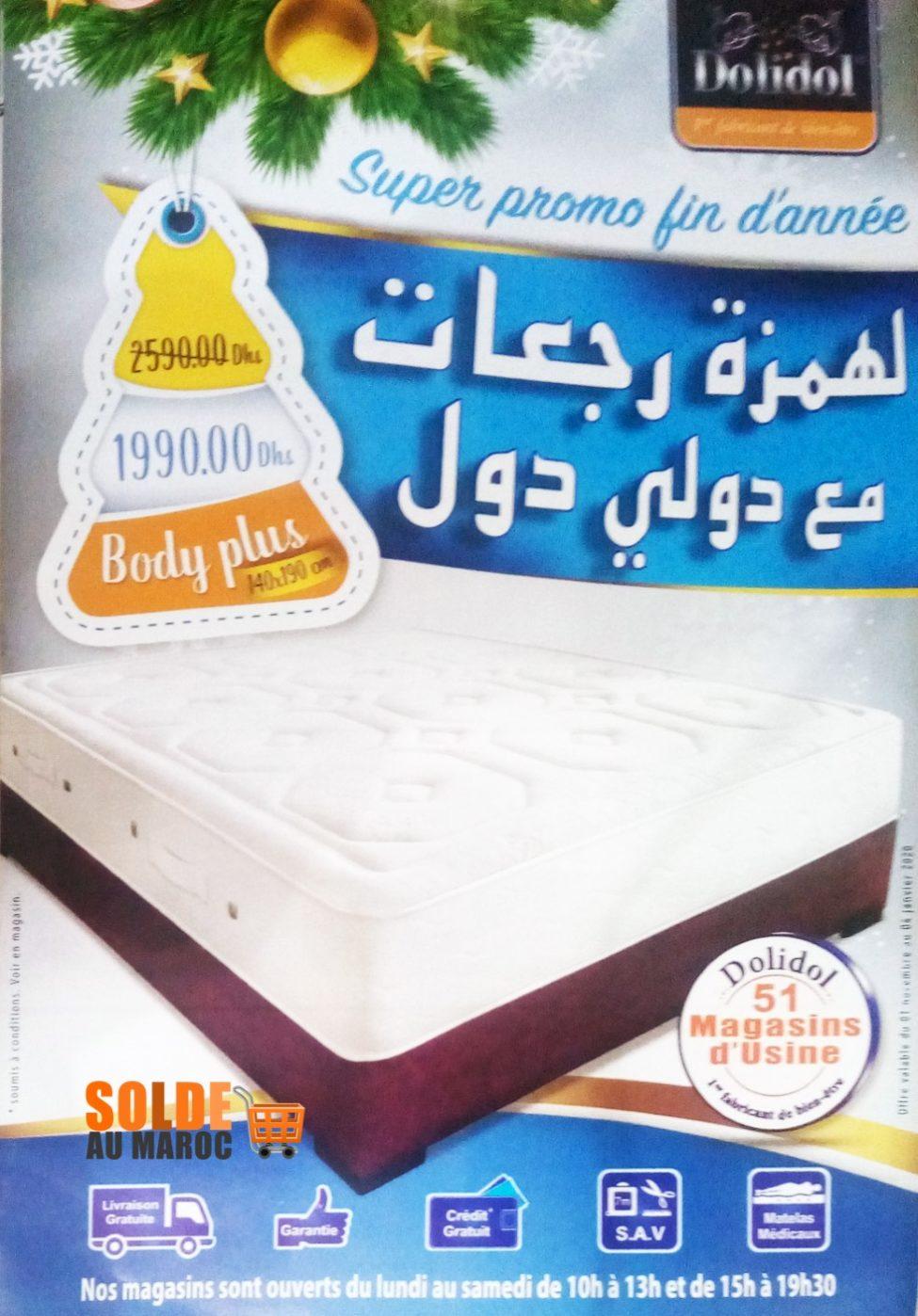 Catalogue Promo Fin d'année Dolidol Jusqu'au 4 Janvier 2019