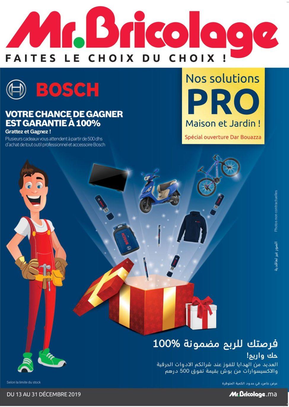 Catalogue Mr Bricolage Maroc du 13 au 31 Décembre 2019