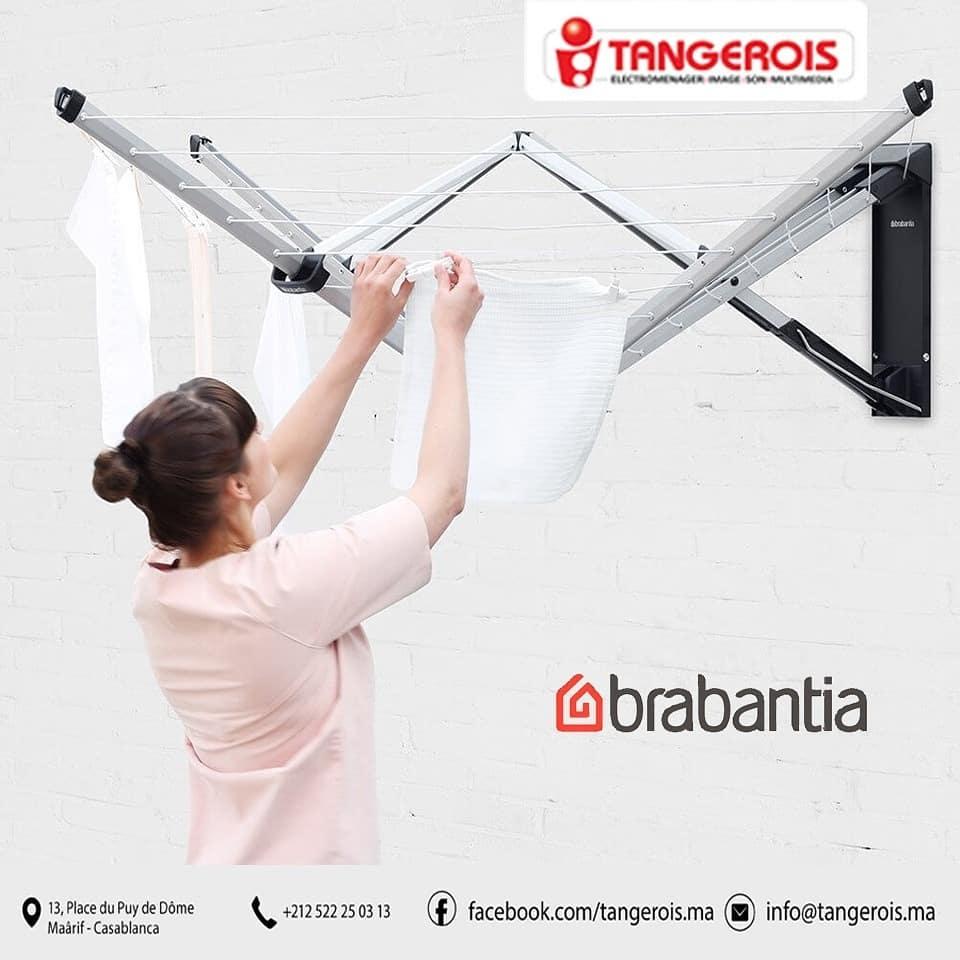 Solutions pratiques et professionnels marque BRABANTIA chez Tangerois Electro
