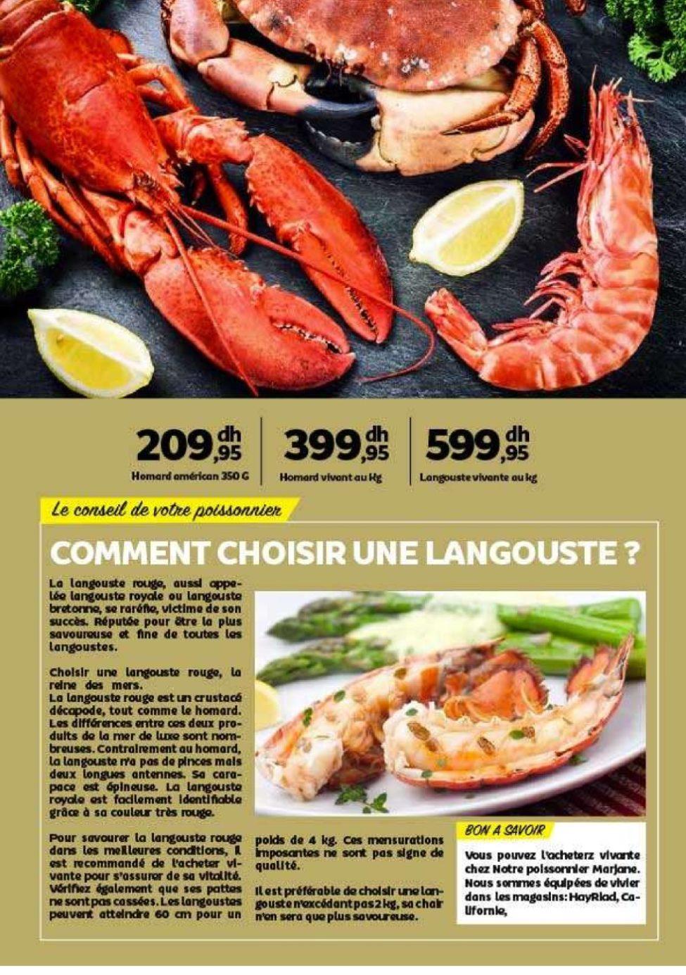 Catalogue Marjane 2020 Table du nouvel An à prix MARJANE