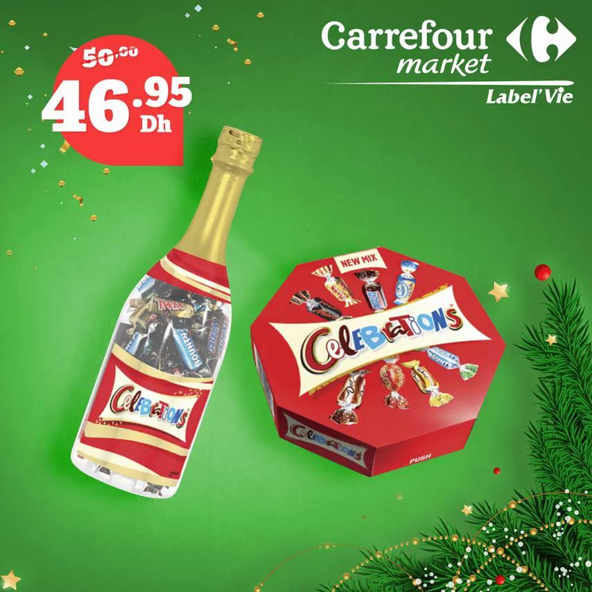 Promo Carrefour Market large gamme de chocolat jusqu'au 31 Décembre 2019