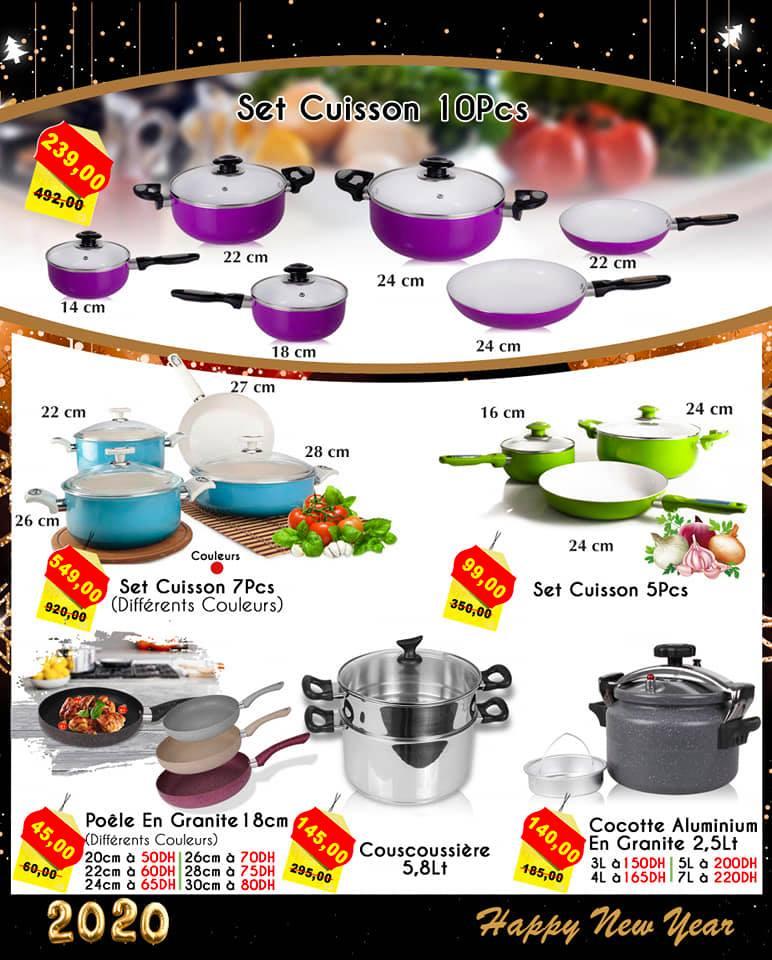 Catalogue Saga Cuisine Spéciale Fin d'année du 24 au 30 décembre 2019