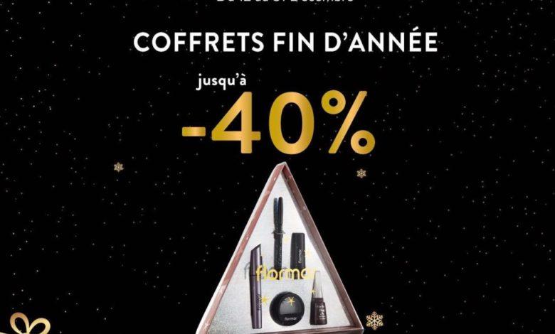 Promo Flormar Maroc des Coffrets fin d'année Jusqu'à -40% de remise