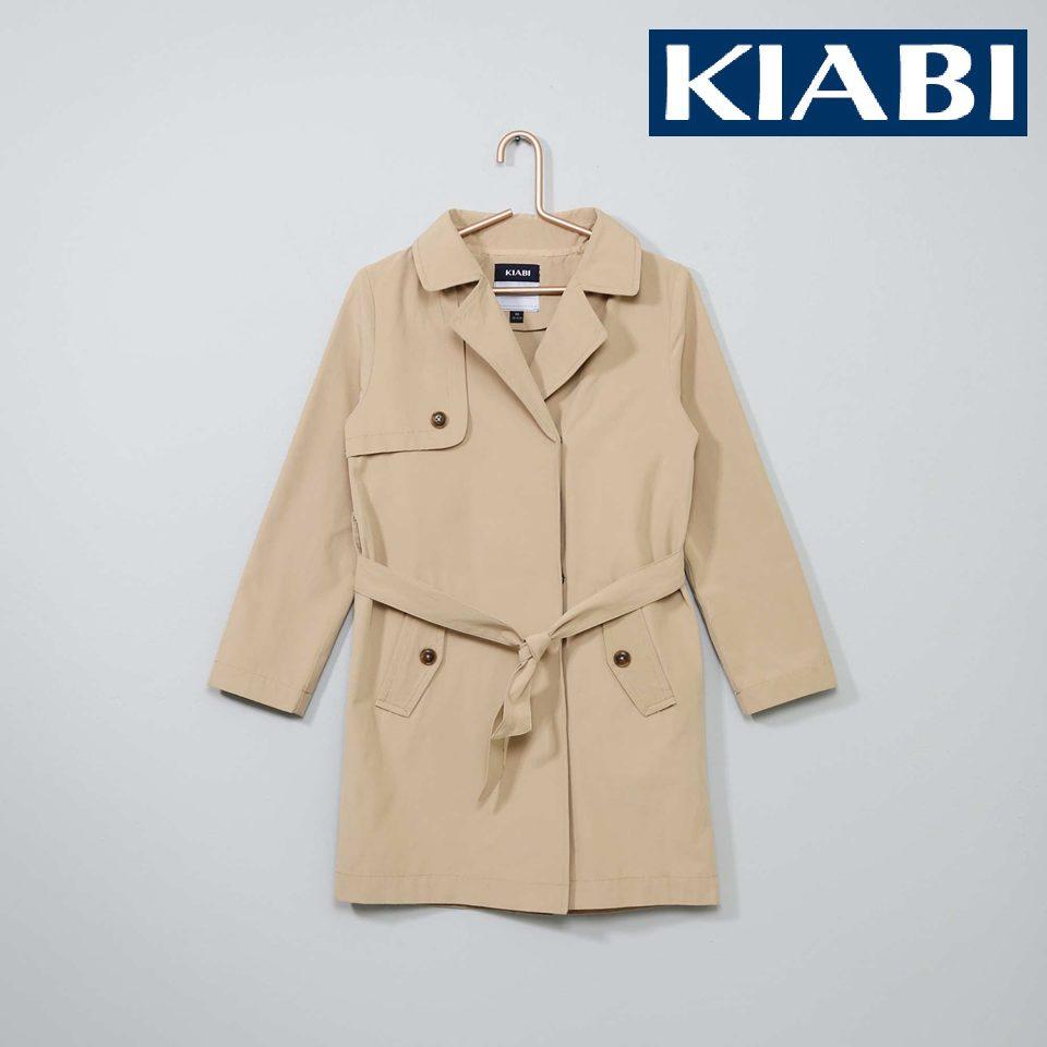 Promo Kiabi Maroc Trench-Coat pour fille à 150Dhs au lieu de 220Dhs