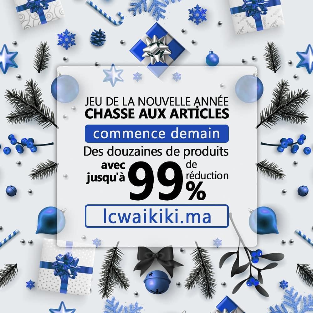 Dizaines de produits avec une réduction jusqu'à 99% sur lcwaikiki.ma