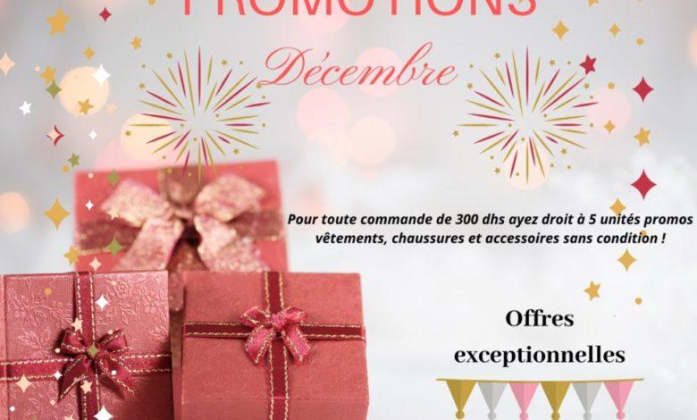 Photo of Super Promo Décembre chez Sophie Paris Maroc à partir d'une commande de 300Dhs