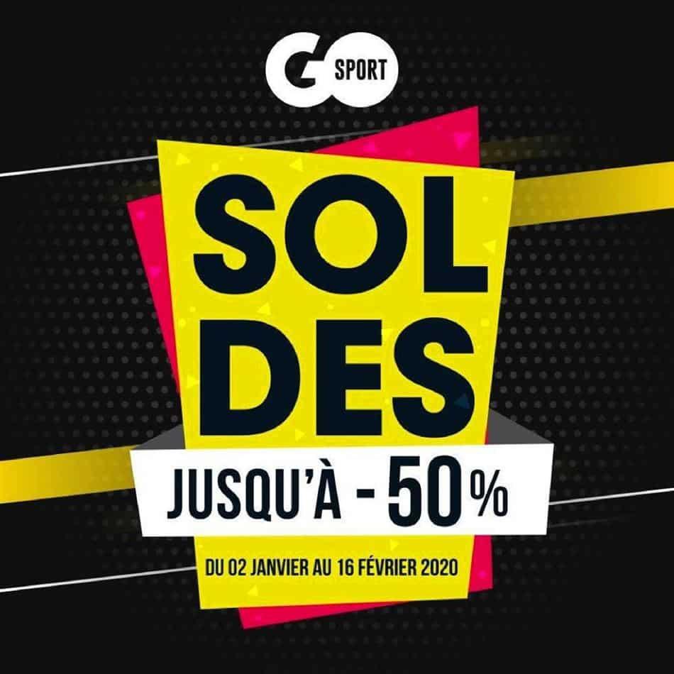Soldes Go Sport Maroc Jusqu'à -50% du 2 Janvier au 16 Février 2020