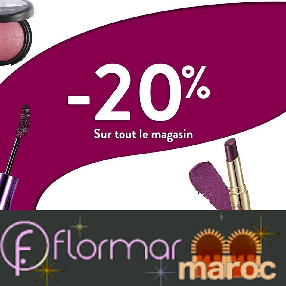 Offre Spéciale FLORMAR Maroc Promotion Alert! Jusqu'au 31 Janvier 2020