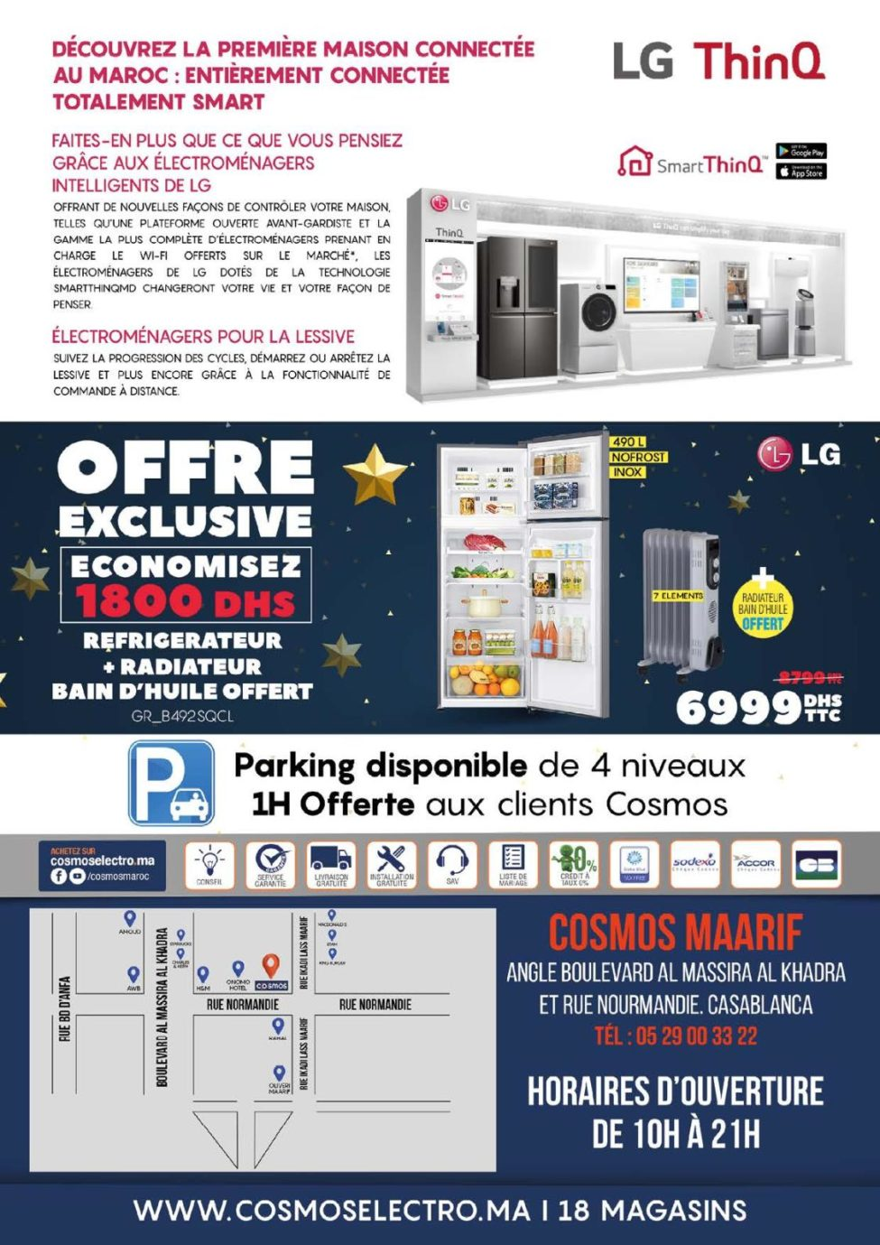 Catalogue Cosmos Electro Deal Ouverture Magasin Maarif 2020