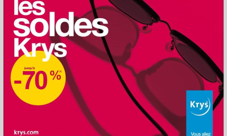 Soldes chez Krys jusqu'à -70 % sur une sélection de paires de lunettes