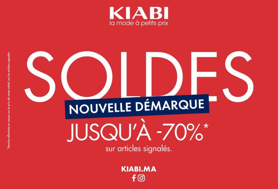 Nouvelle Démarque des soldes chez Kiabi Maroc jusqu'au 31 mars 2020