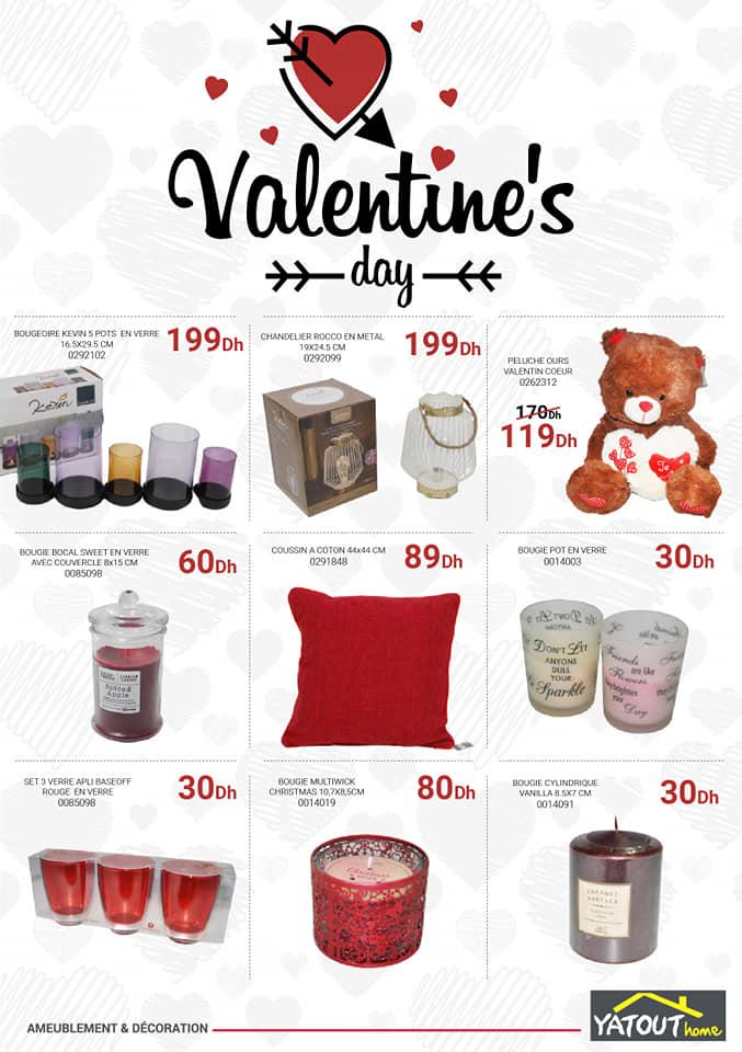 Flyer Yatout Home Valentine's Day Spéciale Idées Cadeaux