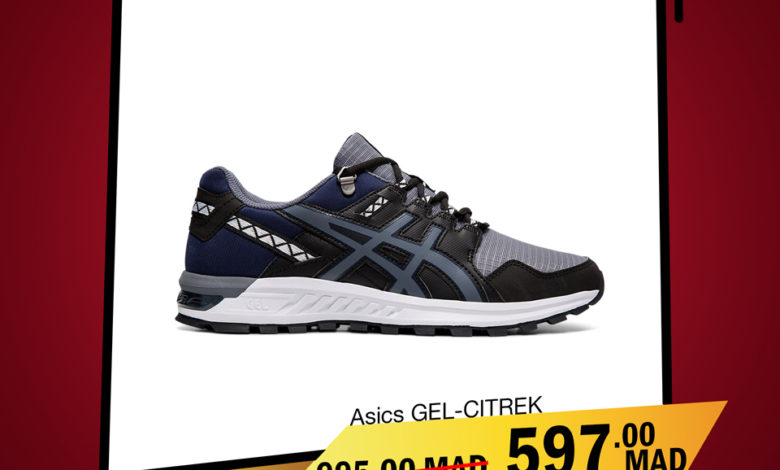Photo of Soldes City Sport ASICS GEL-CITREK 597Dhs au lieu de 995Dhs