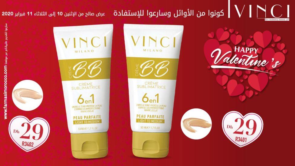 Flyer Vinci By Farmasi Maroc du 10 au 11 Février 2020