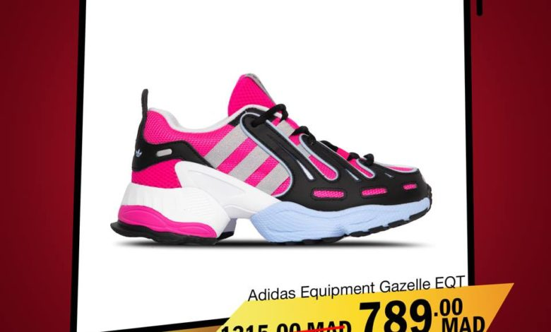 Photo of Soldes City Sport ADIDAS Equipement Gazele EQT 1315Dh au lieu de 789Dhs