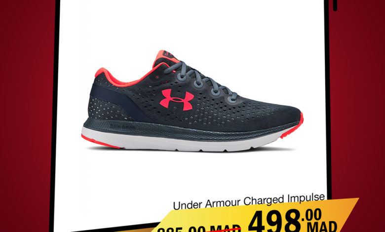 Photo of Soldes City Sport UNDER ARMOUR Charged Impulse 498Dhs au lieu de 885Dhs