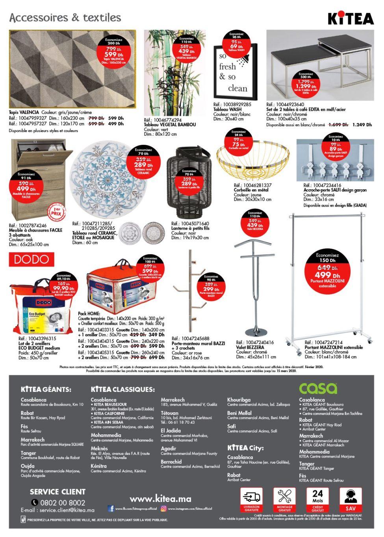 Catalogue Kitea Les Offres de février 2020 Jusqu'au 15 Mars 2020