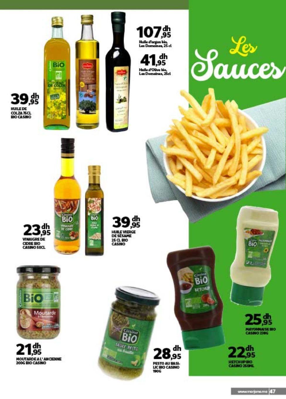 Catalogue Marjane Le mieux manger à prix Marjane Spéciale Fait maison sans Gluten