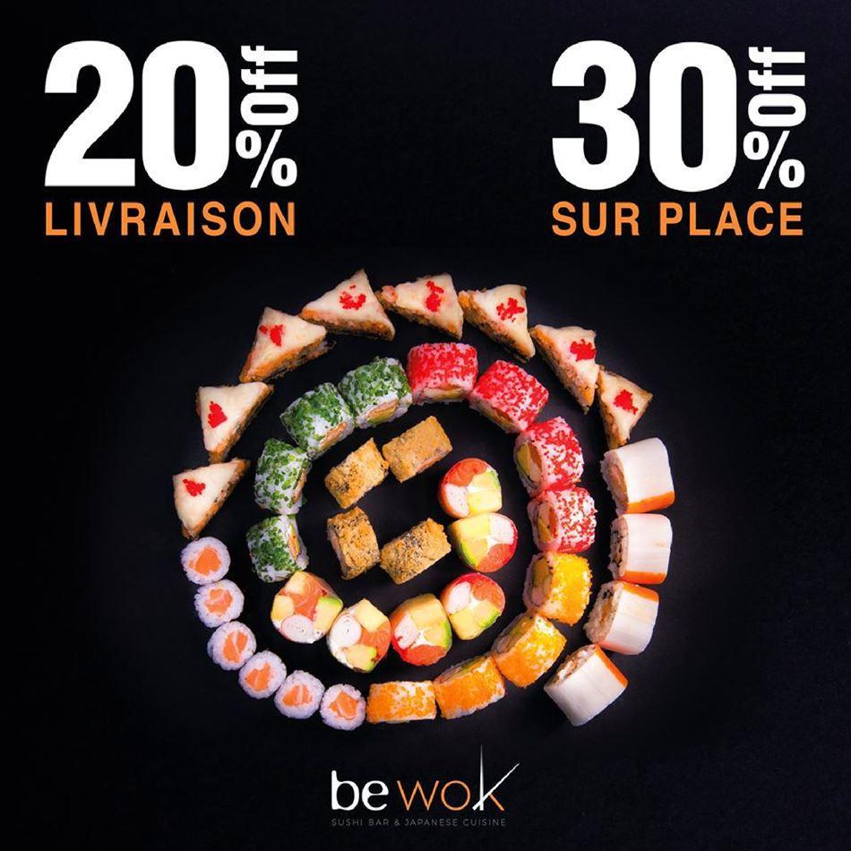 Offres Stayhome Bewok Casablanca valables du 18 Mars au 14 Avril 2020