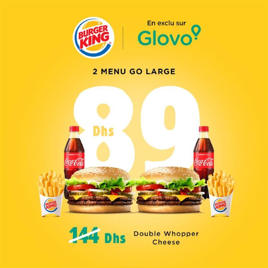 Offre Burger King Deals Livraison Gratuite Jusqu'au 20 Avril 2020