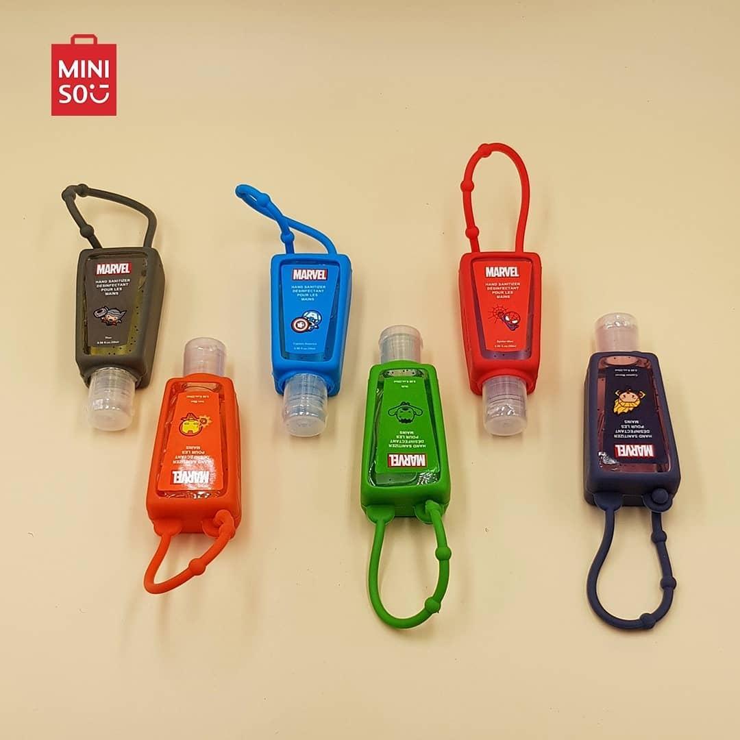 Hand Sanitizer Gel chez Miniso Maroc Gels désinfectants à partir de 25Dhs