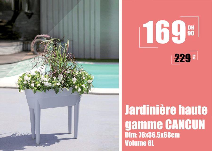 Soldes Aswak Assalam Jardinière haute gamme CANCUN 169Dhs au lieu de 229Dhs
