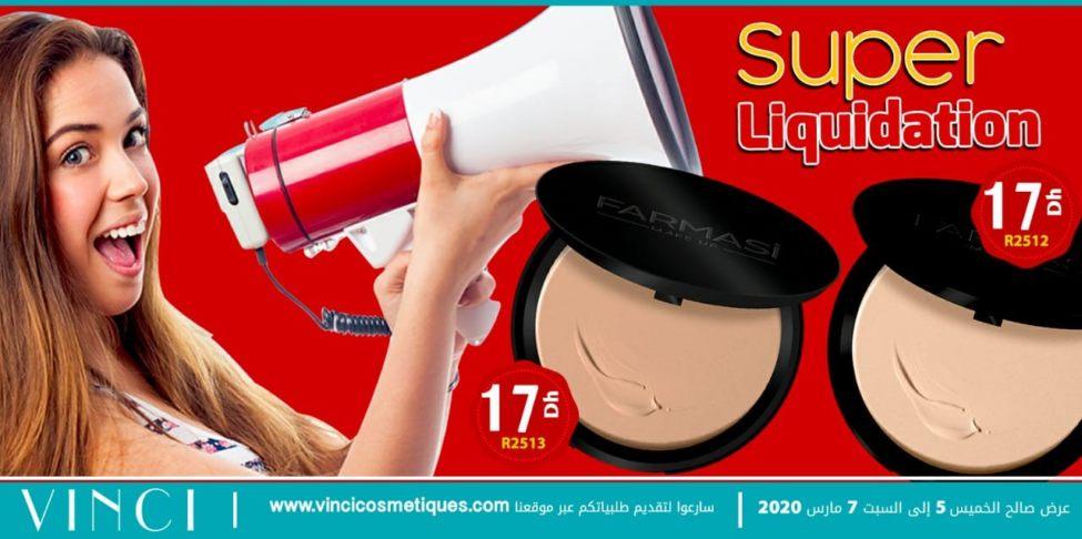 Offre Spéciale Vinci Maroc Super Liquidation du 5 au 7 Mars 2020