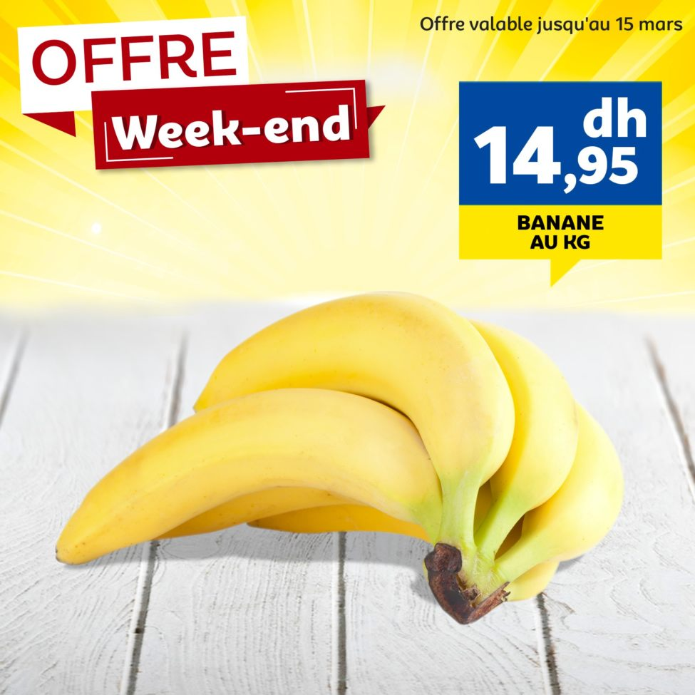 Offre Week-end chez Marjane Jusqu'au 15 Mars 2020