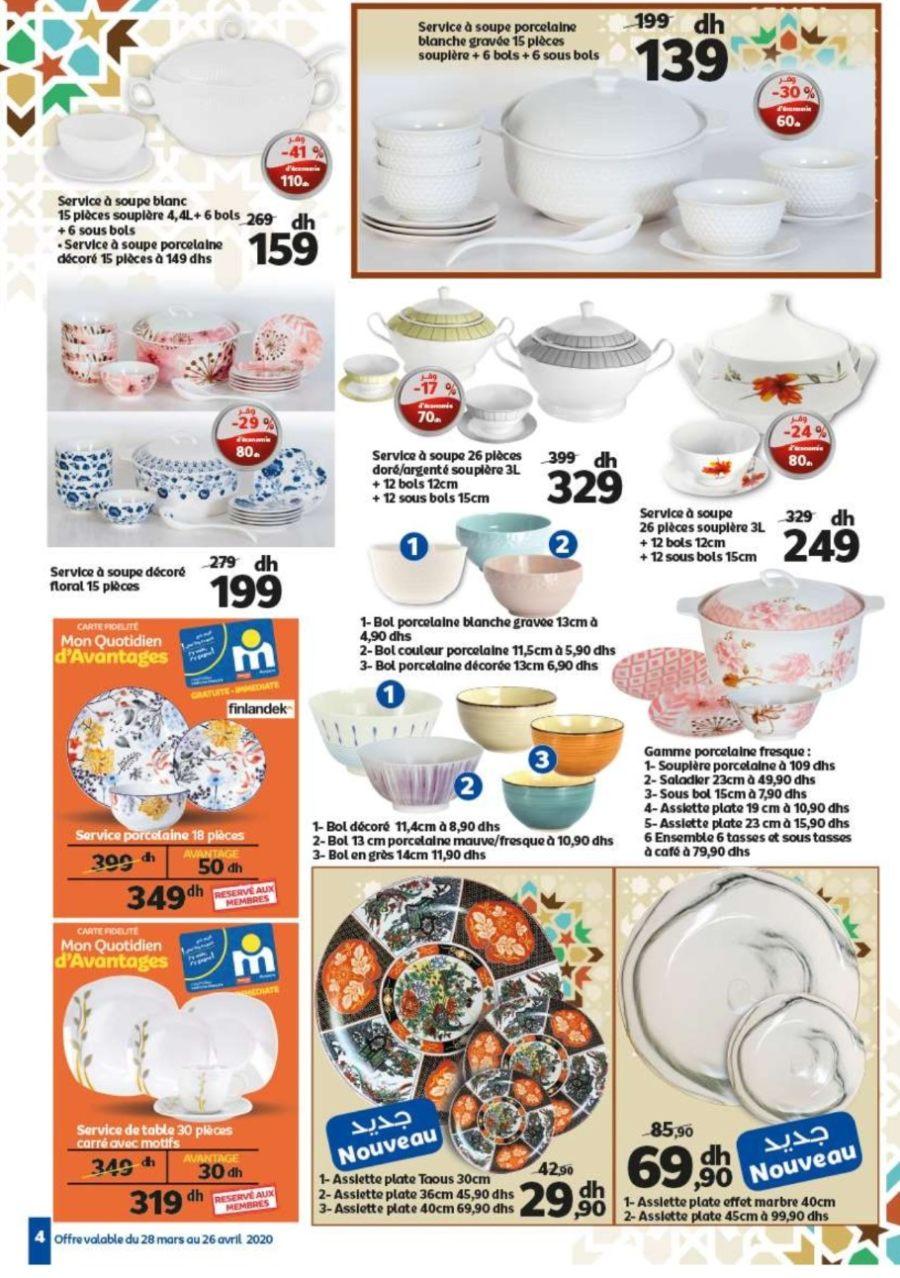 Catalogue Marjane ديما في جنبكم du 28 Mars au 26 Avril 2020