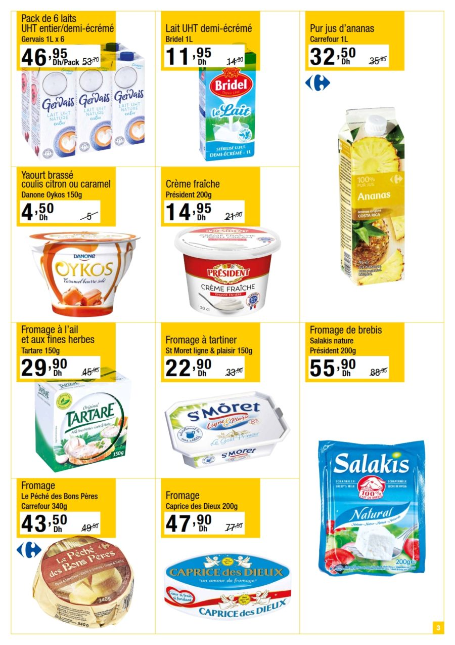 Catalogue Carrefour Gourmet Maroc عروض شعبان du 26 Mars au 14 Avril 2020