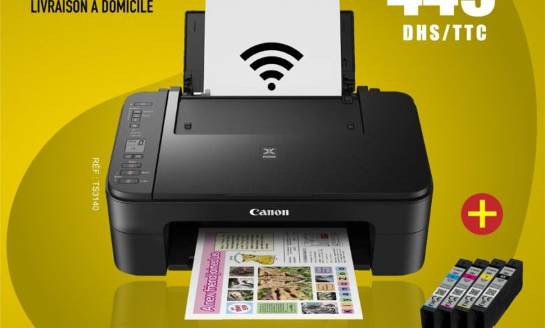 Photo of Offre en ligne Electro Bousfiha Imprimante Scan WIFI Canon 449Dhs