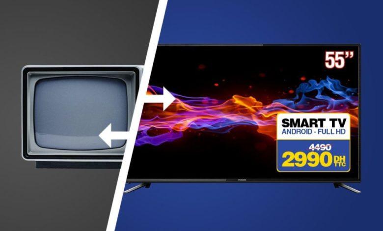 Photo of ALERTE PROMO et Reprise Electro Bousfiha Smart TV Android NIKAI 2990Dhs au lieu de 4490Dhs