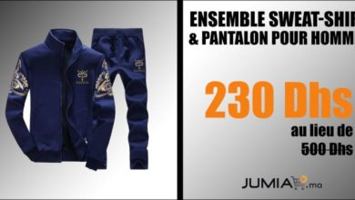 Photo of Promo Jumia Ensemble Sweat-Shirt & Pantalon pour Hommes 230Dhs au lieu de 500Dhs