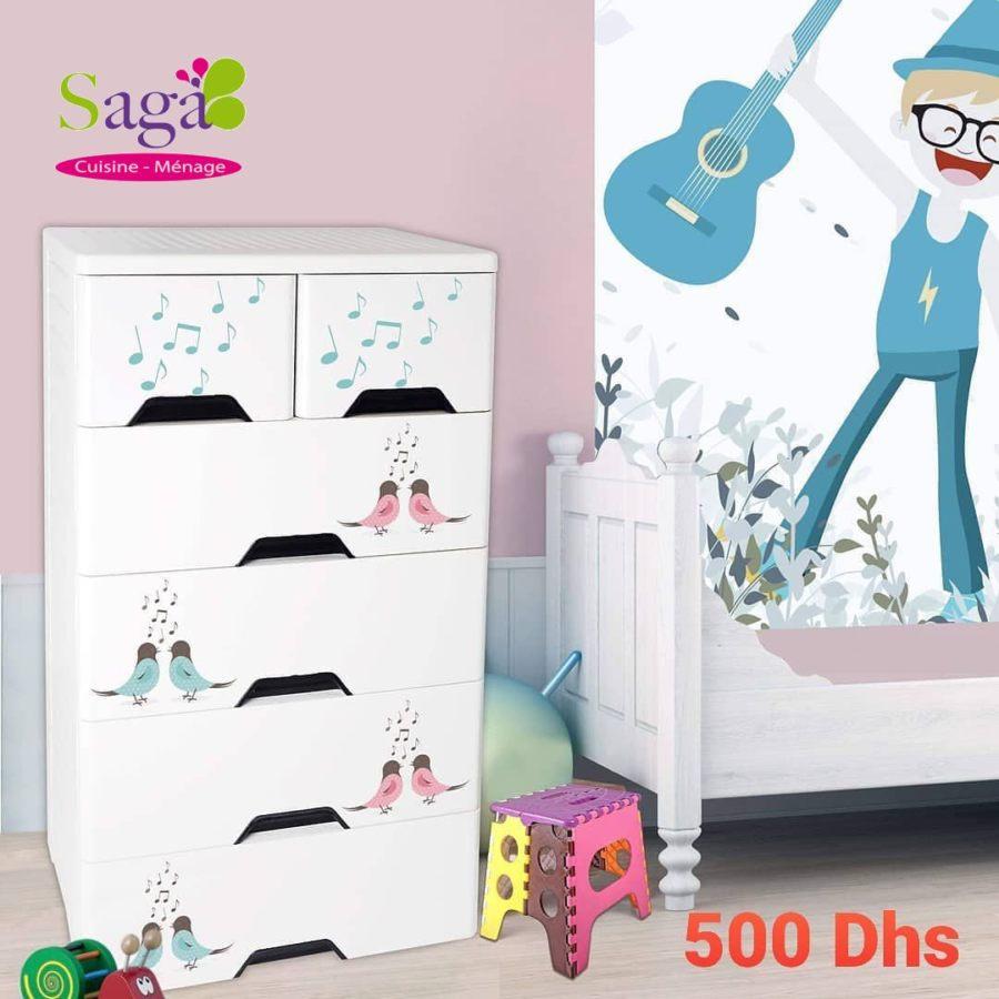 Offre Stay at home chez Saga Cuisine Rangement divers coloris à 500Dhs