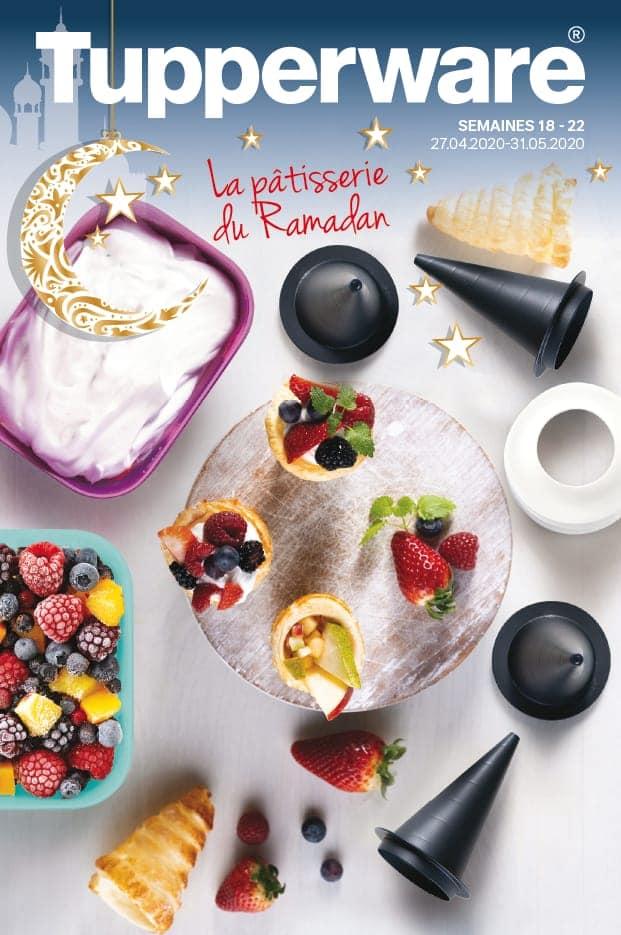 Catalogue Tupperware Maroc La pâtisserie du Ramadan du 27 Avril au 31 Mai 2020